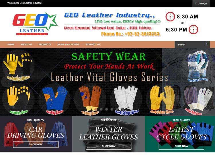 Geo Leather Industry